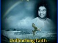Unflinching faith alone can bring victory